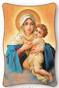 Plaque - Our Lady of Schoenstatt Style M504 - Available in 2 Sizes