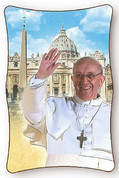 Plaque   Pope Francis   Available 2 Sizes   P17