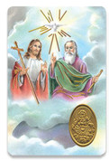 Holy Card of Oracion A La Santa Trinidad - Spanish