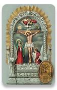 Holy Card of Oracion al Senor de Los Milagros - Spanish