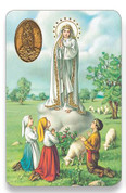 Holy Card of Novena a Nuestra Senora de Fatima - Spanish