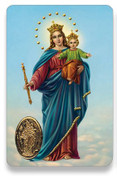 Holy Card of Suplica a Maria Auxiliadora - Spanish