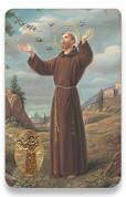 Holy Card of Oracion de San Francisco - Spanish
