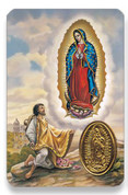 Holy Card of Virgen de Guadalupe - Spanish