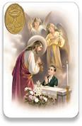 Holy Card of Oracion de Comunion Boy - Spanish