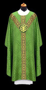 Chasuble with Velvet Medallion - Style ALB2313
