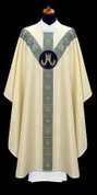 Chasuble with Marian Symbol - Style ALB2314