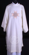 Dalmatic with Embroidered Cross - Style ALB278DW