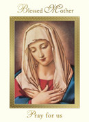 Mass Card | Blessed Mother Pray for Us | For Your Intentions | BCMO065
