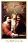 Holy Card | Holy Family | BCHG138