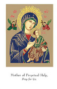 Holy Card | Our Lady of Perpetual Help | BCHG113