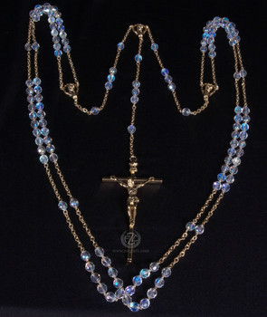 Rosary | Wedding Lasso | Gold Crucifix |COC07378