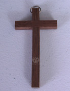 Cross | Dark Wood | Size 4"