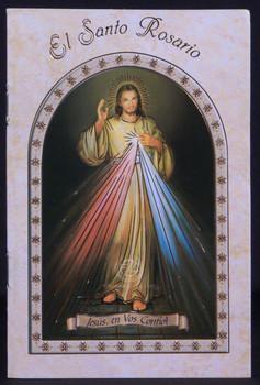 El Santo Rosario Prayer Booklet | Divine Mercy | EGHRL08S