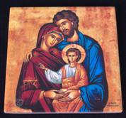 Wall Plaque | Tile Style | Iconic Holy Family