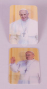 Holy Card with Pope Francis in a 2D Design JBWD61