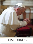 Magnet Pope Francis In Prayer His Holiness JBMG208