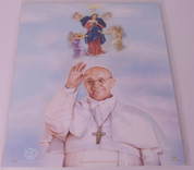 "Print Only of Pope Francis and Our Lady Undoer of Knots 8"" x 10"" SIRPC8221"