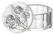 Crystal Box with Guardian Angel Lid VAL18023SC