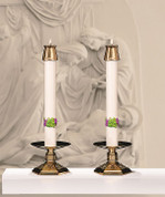 Complementing Altar Candles for Eximious Remembrance CC79986
