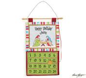 Advent Wall Calendar Fabric Children BUR9723683