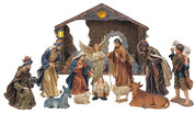 Traditional Nativity 12 Piece Set with Stable GSC296