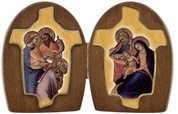 Diptych Holy Family Three Kings VIF4N23