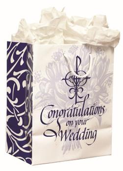 Gift Bag Congratulations On Your Wedding PR70094