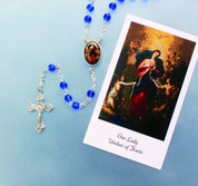 Rosary Our Lady Undoers of Knots DV967BLKNC1