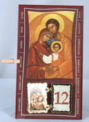 Iconic Calendar Holy Family Flip Days VIDP3SF