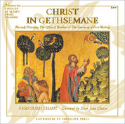 Christ in Gethsemane Gregorian Chant CD 155725124X