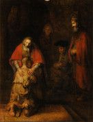 Poster of the Return of the Prodigal Son 8 x 10 JB8287P
