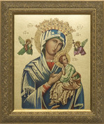 Framed Print Our Lady of Perpetual Help Print Size 8x10 NWCNW838B2