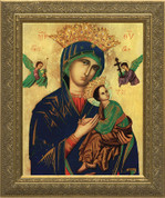 Framed Print of Our Lady of Perpetual Help 12x16 NWCNW17D2