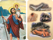 St Christopher Travel Protection 2D Holy Card EGA55
