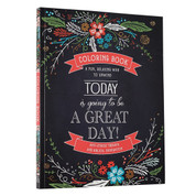 Today is going to be A Great Day Adult Coloring Book Paperback 9781432113353