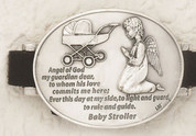 "Baby Stroller Guardian Angel Clip 2"" LUM171402076"