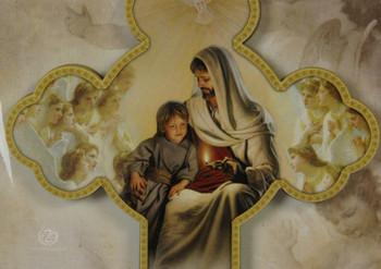Communion with Jesus The Blessed Eucharist Cross Boy RI462010FCB