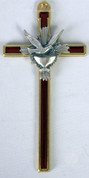 Wall Cross Holy Spirit Dove Chalice Confirmation RI46705