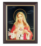 Immaculate Heart of Mary Framed Print Wood 133206