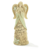 Angel of Faith The Lord Is My Shepherd Psalm 23:1 Statue DIANGR1025