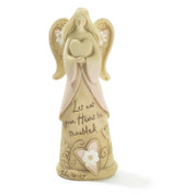 Angel of Peace Let Not Your Heart Be Troubled John 14:27 Statue DIANGR1026