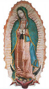 Decal Our Lady of Guadalupe Multiple Uses NWCDEC306A