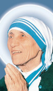 Blessed Mother Theresa Postcard Style EGARS160