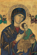 Our Lady of Perpetual Help Notecard EGNOTE17