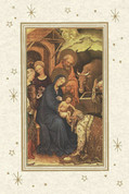 Nativity Scene with Holy Family and King Notecard EGNOTEN02