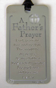 Father's Prayer Bookmark Metal DIBKM7066