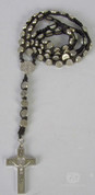 St Benedict Medal and Black Corded Rosary RI2661901