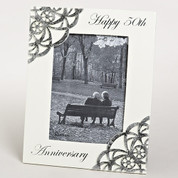 50th Wedding Anniversary Photo Frame RO10375