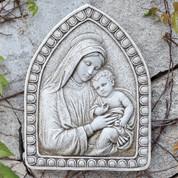 Madonna and Child Garden Plaque RO66205